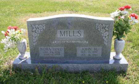 FORD MILLS, NORA MAE - Benton County, Arkansas | NORA MAE FORD MILLS - Arkansas Gravestone Photos
