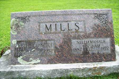 BINGHAM MILLS, NELLIA MAHALA - Benton County, Arkansas | NELLIA MAHALA BINGHAM MILLS - Arkansas Gravestone Photos