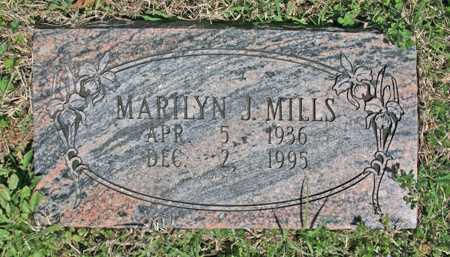 MILLS, MARILYN J - Benton County, Arkansas | MARILYN J MILLS - Arkansas Gravestone Photos