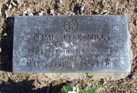 MILLS (VETERAN KOR), TOMIE LYLE - Benton County, Arkansas | TOMIE LYLE MILLS (VETERAN KOR) - Arkansas Gravestone Photos