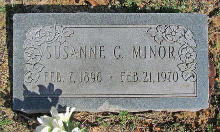 MINOR, SUSANNE C - Benton County, Arkansas | SUSANNE C MINOR - Arkansas Gravestone Photos