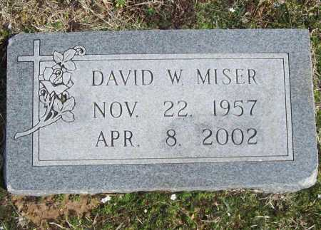 MISER, DAVID  WESLEY - Benton County, Arkansas | DAVID  WESLEY MISER - Arkansas Gravestone Photos