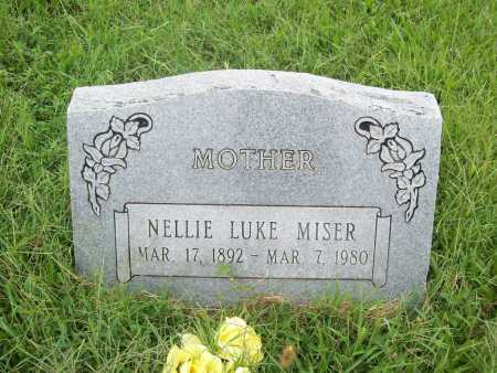 MISER, NELLIE - Benton County, Arkansas | NELLIE MISER - Arkansas Gravestone Photos