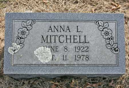MITCHELL, ANNA L. - Benton County, Arkansas | ANNA L. MITCHELL - Arkansas Gravestone Photos