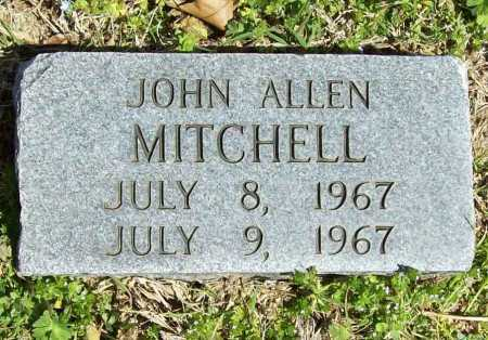 MITCHELL, JOHN ALLEN - Benton County, Arkansas | JOHN ALLEN MITCHELL - Arkansas Gravestone Photos