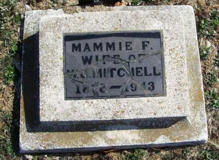 MITCHELL, MAMMIE F. - Benton County, Arkansas | MAMMIE F. MITCHELL - Arkansas Gravestone Photos
