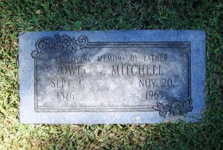 MITCHELL, OWEN V. - Benton County, Arkansas | OWEN V. MITCHELL - Arkansas Gravestone Photos
