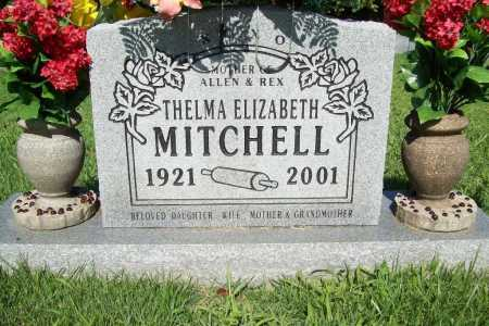 MITCHELL, THELMA ELIZABETH - Benton County, Arkansas | THELMA ELIZABETH MITCHELL - Arkansas Gravestone Photos