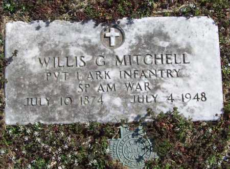 MITCHELL (VETERAN SAW), WILLIS G - Benton County, Arkansas | WILLIS G MITCHELL (VETERAN SAW) - Arkansas Gravestone Photos