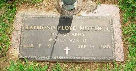 MITCHELL (VETERAN WWII), RAYMOND FLOYD - Benton County, Arkansas | RAYMOND FLOYD MITCHELL (VETERAN WWII) - Arkansas Gravestone Photos