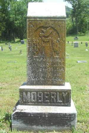 MOBERLY, GEORGE W. - Benton County, Arkansas | GEORGE W. MOBERLY - Arkansas Gravestone Photos