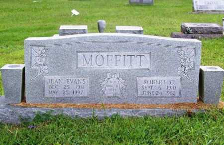 EVANS MOFFITT, JEAN - Benton County, Arkansas | JEAN EVANS MOFFITT - Arkansas Gravestone Photos