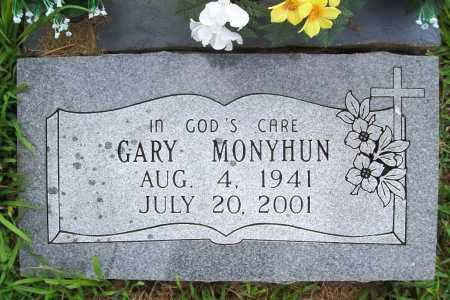 MONYHUN, GARY - Benton County, Arkansas | GARY MONYHUN - Arkansas Gravestone Photos
