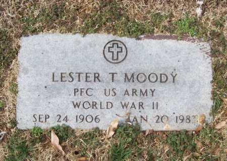MOODY (VETERAN WWII), LESTER T - Benton County, Arkansas | LESTER T MOODY (VETERAN WWII) - Arkansas Gravestone Photos