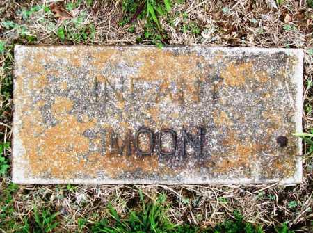 MOON, INFANT - Benton County, Arkansas | INFANT MOON - Arkansas Gravestone Photos