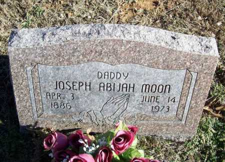 MOON, JOSEPH ABIJAH - Benton County, Arkansas | JOSEPH ABIJAH MOON - Arkansas Gravestone Photos