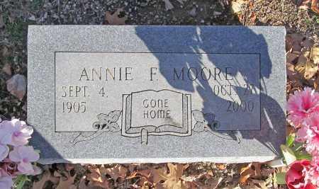 MOORE, ANNIE F. - Benton County, Arkansas | ANNIE F. MOORE - Arkansas Gravestone Photos