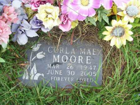 MOORE, CORLA MAE - Benton County, Arkansas | CORLA MAE MOORE - Arkansas Gravestone Photos