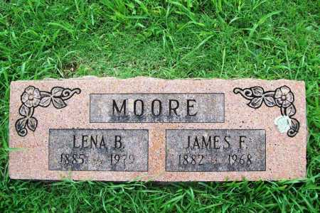 MOORE, JAMES F. - Benton County, Arkansas | JAMES F. MOORE - Arkansas Gravestone Photos