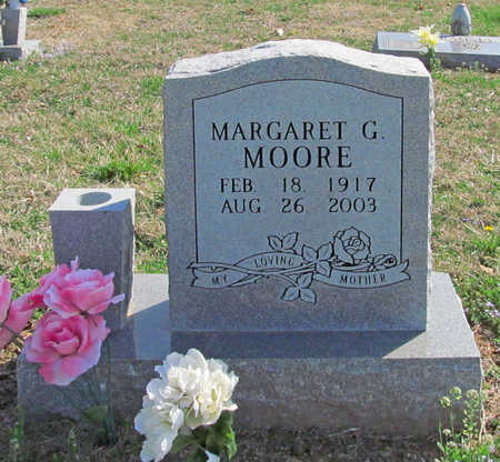 MOORE, MARGARET G - Benton County, Arkansas | MARGARET G MOORE - Arkansas Gravestone Photos