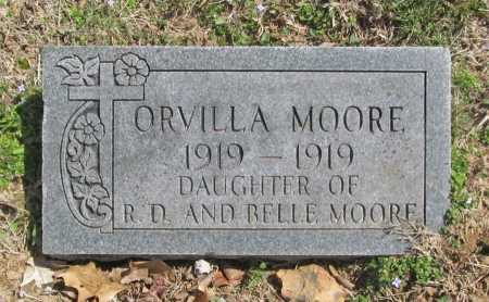 MOORE, ORVILLA - Benton County, Arkansas | ORVILLA MOORE - Arkansas Gravestone Photos