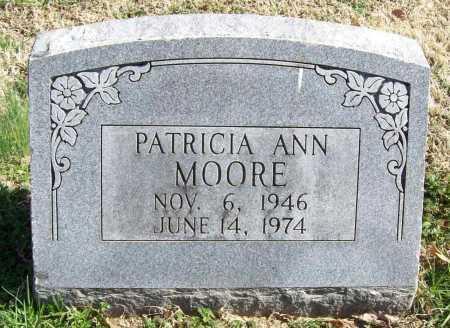 MOORE, PATRICIA ANN - Benton County, Arkansas | PATRICIA ANN MOORE - Arkansas Gravestone Photos