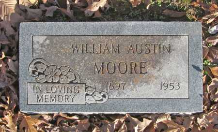 MOORE, WILLIAM AUSTIN - Benton County, Arkansas | WILLIAM AUSTIN MOORE - Arkansas Gravestone Photos