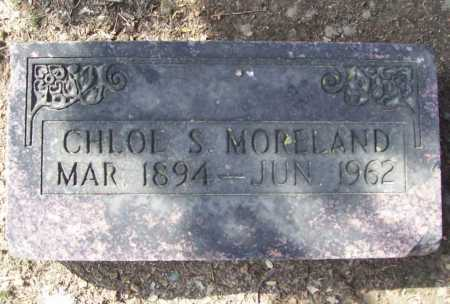 MORELAND, CHLOE S (ORIGINAL) - Benton County, Arkansas | CHLOE S (ORIGINAL) MORELAND - Arkansas Gravestone Photos