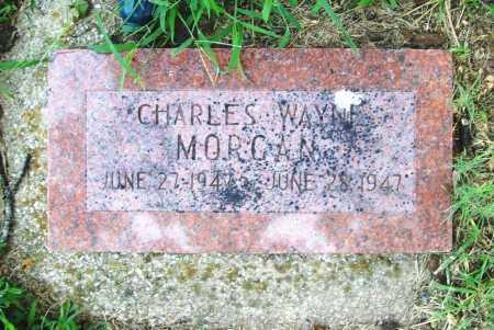 MORGAN, CHARLES WAYNE - Benton County, Arkansas | CHARLES WAYNE MORGAN - Arkansas Gravestone Photos