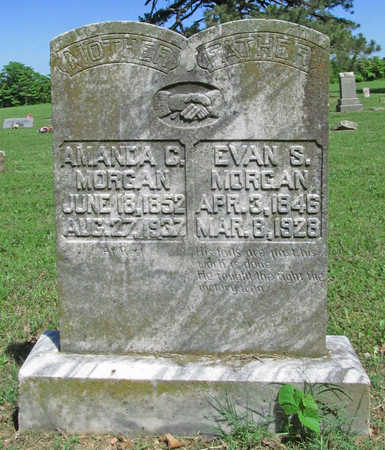MORGAN, EVAN S - Benton County, Arkansas | EVAN S MORGAN - Arkansas Gravestone Photos