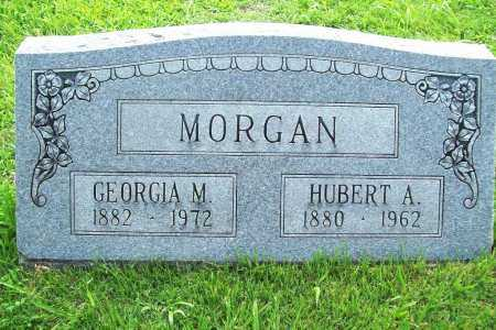MORGAN, HUBERT A. - Benton County, Arkansas | HUBERT A. MORGAN - Arkansas Gravestone Photos