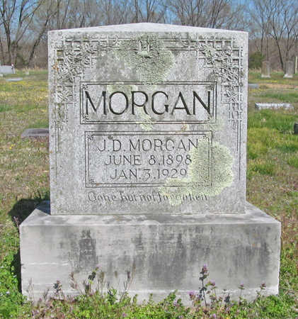 MORGAN, J. D. - Benton County, Arkansas | J. D. MORGAN - Arkansas Gravestone Photos