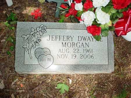 MORGAN, JEFFERY DWAYNE - Benton County, Arkansas | JEFFERY DWAYNE MORGAN - Arkansas Gravestone Photos