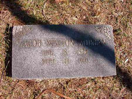 MORGAN, JACOB NEWTON - Benton County, Arkansas | JACOB NEWTON MORGAN - Arkansas Gravestone Photos