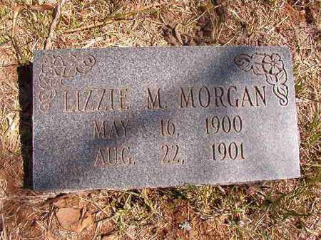 MORGAN, LIZZIE M. - Benton County, Arkansas | LIZZIE M. MORGAN - Arkansas Gravestone Photos