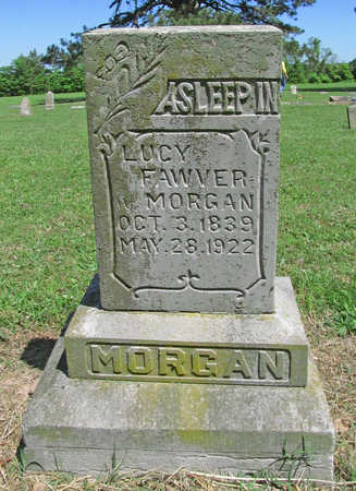MORGAN FAWVER, LUCY - Benton County, Arkansas | LUCY MORGAN FAWVER - Arkansas Gravestone Photos
