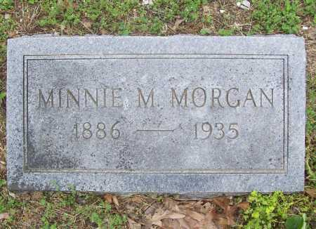 MORGAN, MINNIE M. - Benton County, Arkansas | MINNIE M. MORGAN - Arkansas Gravestone Photos