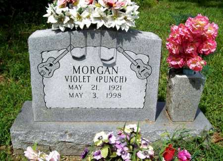 PUNCH MORGAN, VIOLET - Benton County, Arkansas | VIOLET PUNCH MORGAN - Arkansas Gravestone Photos