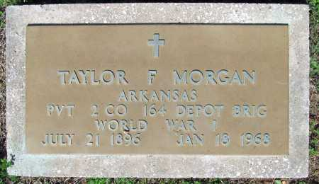 MORGAN (VETERAN WWI), TAYLOR FRANKLIN - Benton County, Arkansas | TAYLOR FRANKLIN MORGAN (VETERAN WWI) - Arkansas Gravestone Photos