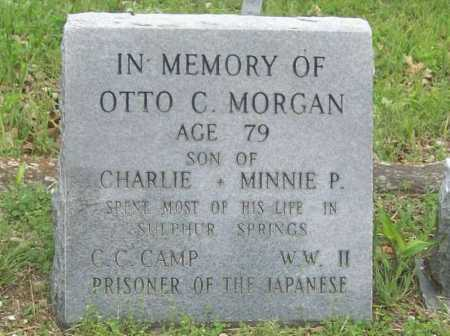 MORGAN, OTTO C - Benton County, Arkansas | OTTO C MORGAN - Arkansas Gravestone Photos
