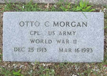 MORGAN (VETERAN WWII), OTTO C - Benton County, Arkansas | OTTO C MORGAN (VETERAN WWII) - Arkansas Gravestone Photos