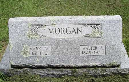 MORGAN, MARY A. - Benton County, Arkansas | MARY A. MORGAN - Arkansas Gravestone Photos