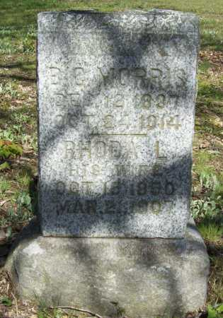 MORRIS, B C - Benton County, Arkansas | B C MORRIS - Arkansas Gravestone Photos