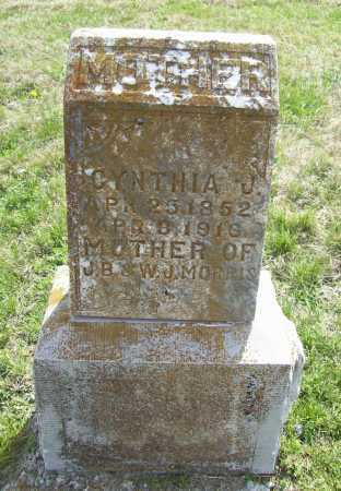 MORRIS, CYNTHIA J. - Benton County, Arkansas | CYNTHIA J. MORRIS - Arkansas Gravestone Photos
