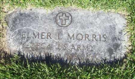MORRIS (VETERAN WWII), ELMER L. - Benton County, Arkansas | ELMER L. MORRIS (VETERAN WWII) - Arkansas Gravestone Photos