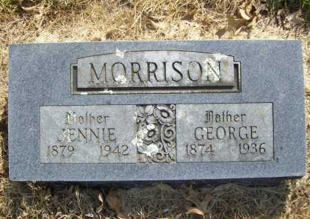MORRISON, JENNIE - Benton County, Arkansas | JENNIE MORRISON - Arkansas Gravestone Photos