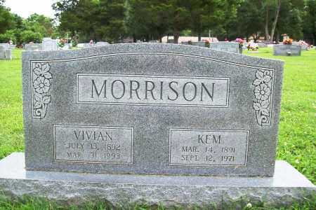 MORRISON, KEM - Benton County, Arkansas | KEM MORRISON - Arkansas Gravestone Photos