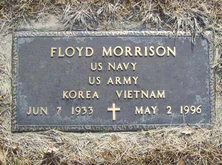 MORRISON (VETERAN 2 WARS), FLOYD - Benton County, Arkansas | FLOYD MORRISON (VETERAN 2 WARS) - Arkansas Gravestone Photos