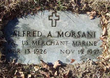 MORSANI (VETERAN), ALFRED A. - Benton County, Arkansas | ALFRED A. MORSANI (VETERAN) - Arkansas Gravestone Photos
