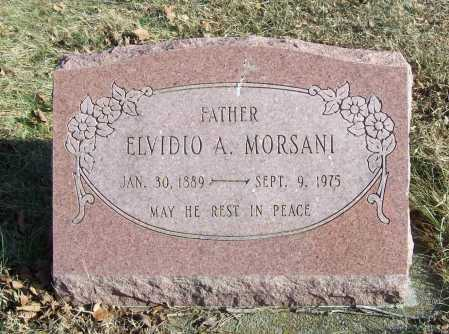 MORSANI (VETERAN WWI), ELVIDIO A. - Benton County, Arkansas | ELVIDIO A. MORSANI (VETERAN WWI) - Arkansas Gravestone Photos